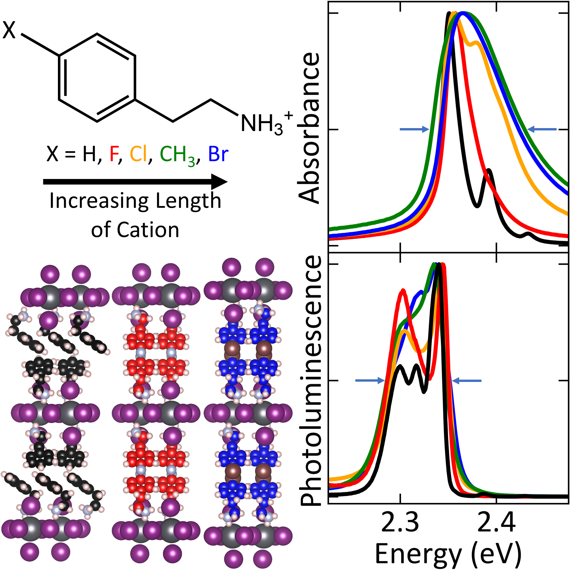 Longer Cations Increase Energetic Disorder in Excitonic 2D Hybrid Perovskites